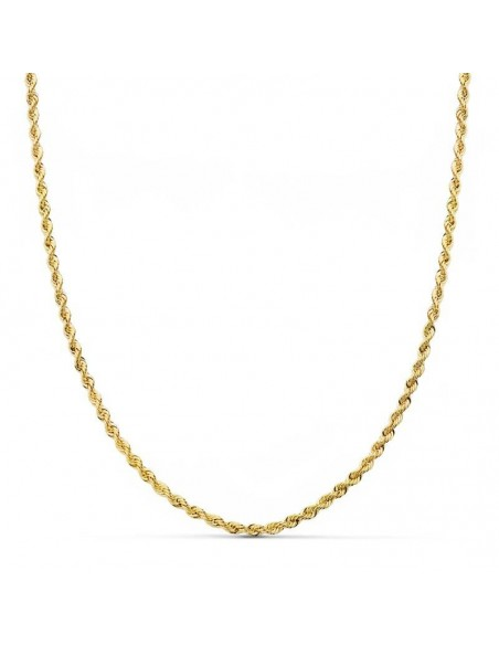 18ct Yellow Gold Chain Salomonic 1.65 mm