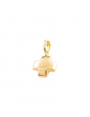 18ct Yellow Gold square Cross