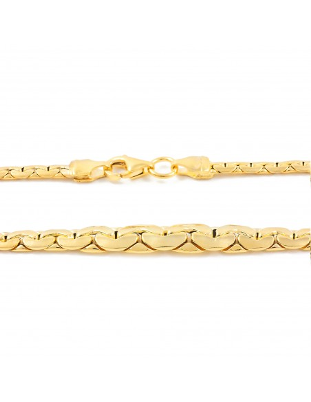 18ct Yellow Gold italian necklace