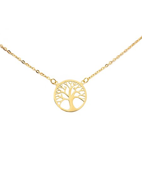 9ct Yellow Gold Life Tree Children's Pendant