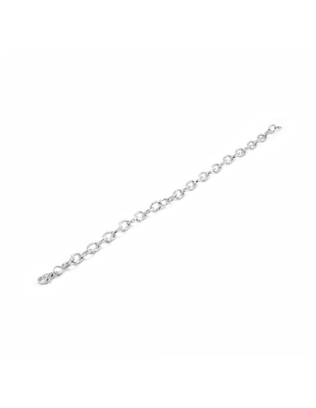 Bracciale capaventi per donna - Oro bianco 18k (750)