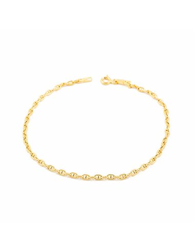 18ct Yellow Gold anchor Bracelet