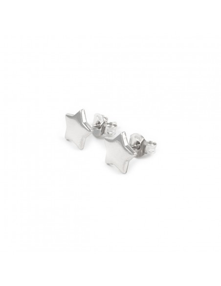 925 Sterling Silver Stars Girls Earrings