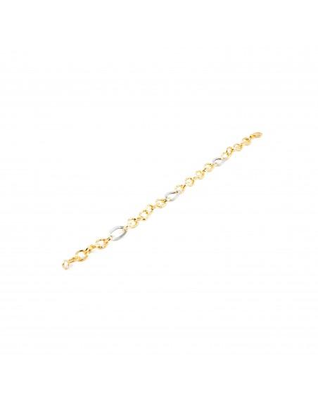 Bracelet Or bicolore 18 Carats