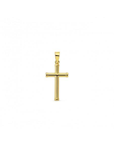 9ct Yellow Gold Cross 16x10 mm