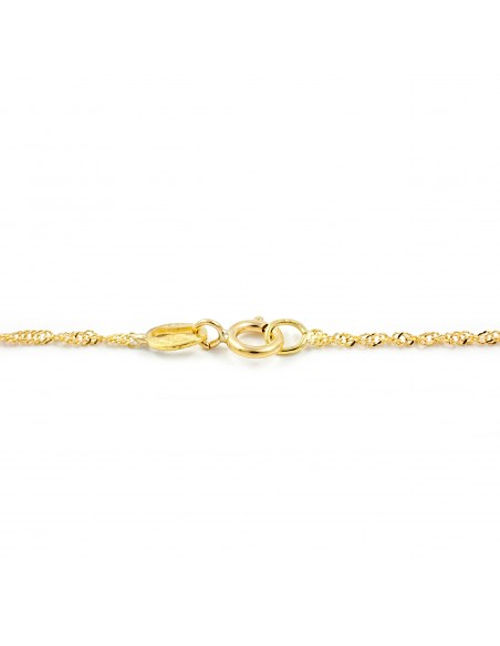 18ct Yellow Gold Singapore chain
