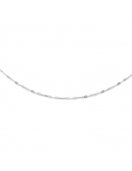 18ct White Gold Chain